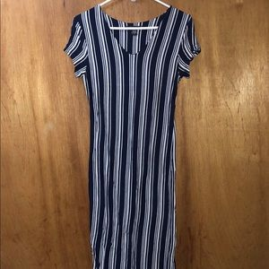 American dream blue and white dress size m…